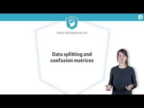 R tutorial: Data splitting and confusion matrices
