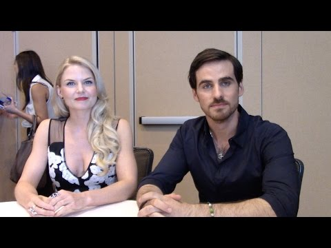Jennifer Morrison & Colin O'Donoghue Interview - Once Upon a Time Season 5