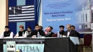 Khuddam Activities - Baitul Futuh Regional Ijtema 2011 - Closing Session