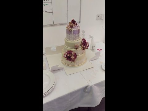 No.1 Singing Waiters - Watch in horror as Wedding Cake is destroyed
