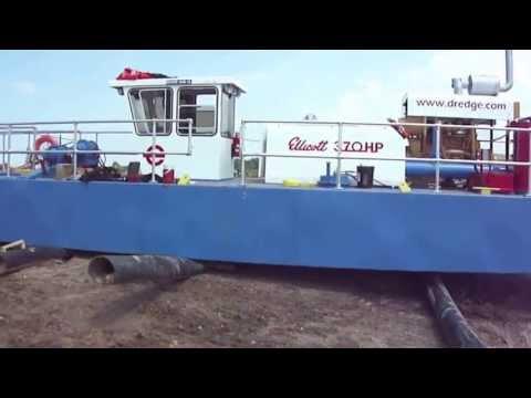 Ellicott 370 HP Dredge Launch