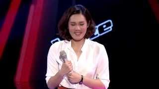 The Voice Thailand - โอปอล์ อชิรญาณ์ - Scarborough Fair - 6 Oct 2013