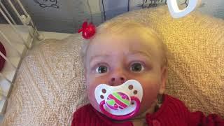 Обложка на видео о Подписчики переодевают 9 реборнов. Совместное видео с каналом Reborn Girl!