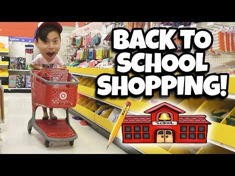 BACK TO SCHOOL SHOPPING We Spent Too Much $$$ at Target