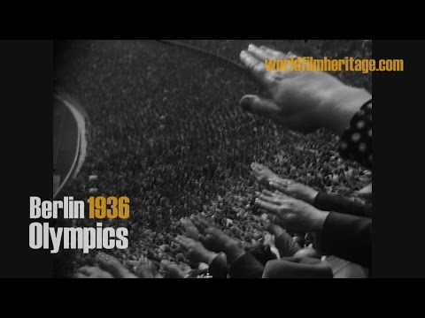 Berlin 1936 - Olympics - Olympia - rare private footage