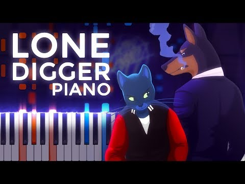 Caravan Palace · Lone Digger · Ragtime | LyricWulf Piano Tutorial on Synthesia
