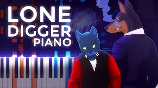 This is my piano tutorial for Lone Digger from ‹ |°_°| › by Caravan...