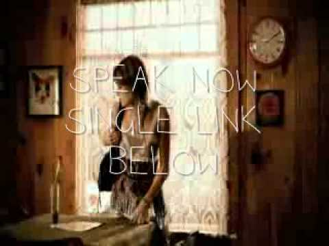 speak now ♥ taylor swift ♥ single link