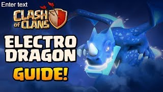 Electrone Attack Strategy Explained!! Electro Dragon Technique Gaming   Clash of Clans! R.Gamepc