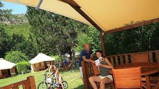 Camping Campéole Le Noble Val - Camping à Saint-Antonin-Noble-Val dans le Tarn-et-Garonne