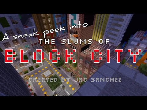 A Sneak Peek Into: The Slums Of Block City - Introducing Tyson