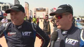 AFRICA ECO RACE 2017 - Etape 12