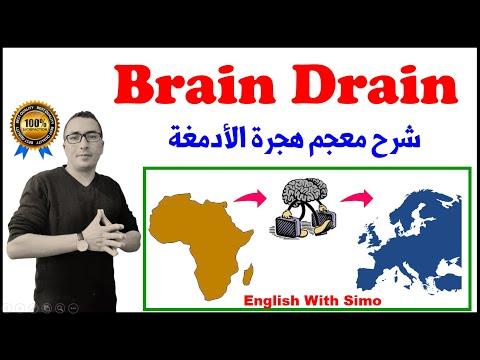 Brain Drain Vocabulary English With Simo العلوم و التكنولوجيا الثانية بكالوريا