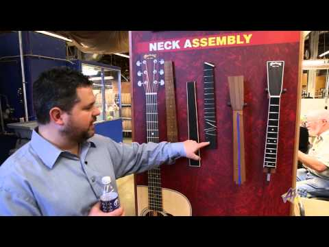 AMS C.F. Martin Guitar Factory Tour - Neck Assembly (13/23)