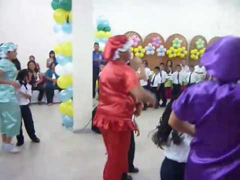 Baile de las Docentes del Preescolar Rayito de Luz de la Alcaldía del Municipio Tucupita