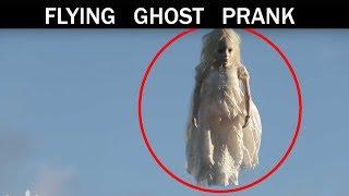 Flying ghost Prank 👻  rep - Julien Magic