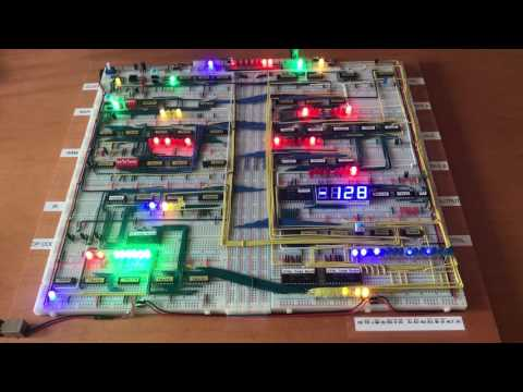 A 4$, 4ICs, Z80 homemade computer on breadboard: Z80-MBC