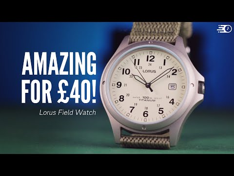 This Obscure Lorus Field Watch Will BLOW Your Socks Off! (Lorus RXD425L8 Review)