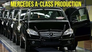 Mercedes A-class Production