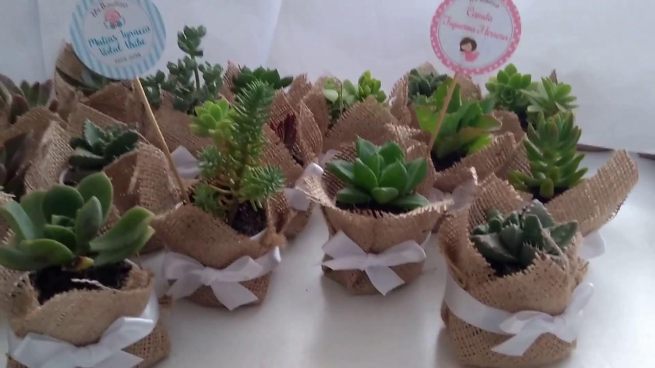 Recuerdos De Bautizo Con Cactus.Recuerdos Para Bautizo Macetas Personalizadas Youtube