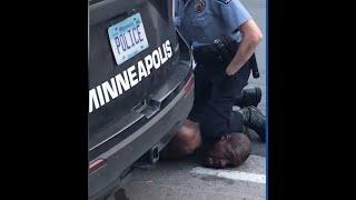 MINNEAPOLIS POLICE KILLS A BLACK MAN!