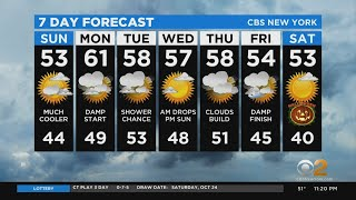 New York Weather: CBS2 10/24 Nightly Forecast at 11PM