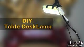 DIY Table Desk Lamp