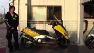 ヤマハTmax参考動画:特別なスポーツスクーター