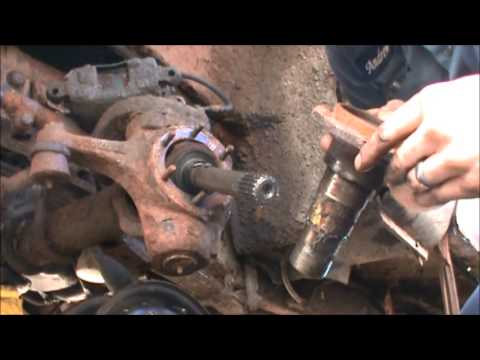 4x4 Chev Front Axle Fix - YouTube