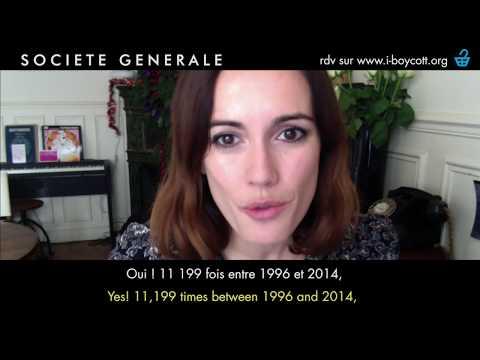 I-BOYCOTT Société Générale / STANDING ROCK / Bank exit