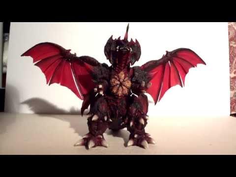 S.H. MonsterArts Destoroyah Final Form Review - YouTube
