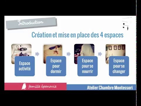 Atelier chambre montessori extrait youtube for Chambre montessori