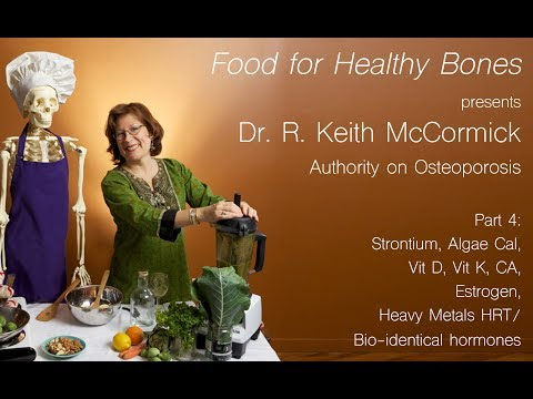 Irma Jennings, INHC And Dr. R. Keith McCormick Part 4: Strontium, Algae Cal, Vit D, And More