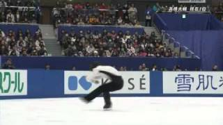 Takahito MURA - All-Japan championship 2010 FS.