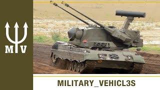 CHEETAH anti-aircraft cannon tank (1960s)