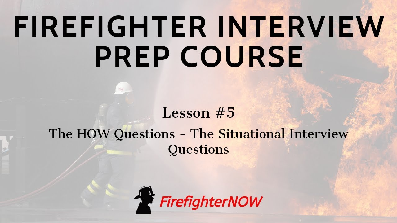 51 Firefighter Interview Questions (With Answers