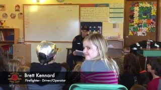 AFD Visits Laurel Charter School | Arcata Fire District