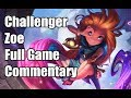 Unranked to Challenger S8 - Zoe - Ep. 3