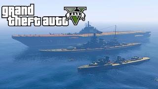 Военные Корабли / Battle Warships (GTA 5 Mods)