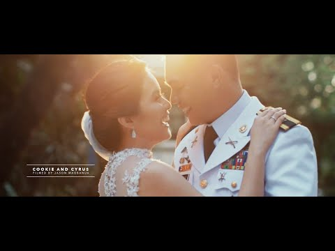 Cookie and Cyrus:  A Fun Military Wedding