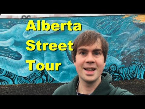 Alberta Street Tour In Portland Oregon