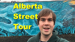 Alberta Street Tour In Portland Oregon
