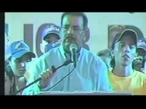 Así decía Danilo Medina de los Funcionario de Leonel Fernández