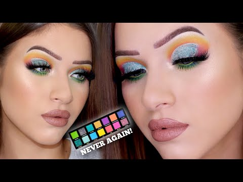 Pinky Rose Bright Lights Palette GRWM! Never Buying From Them Again! thumbnail