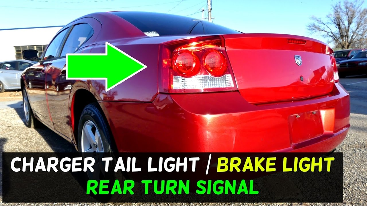 hight resolution of dodge charger tail light brake light rear turn signal light bulb replacement youtube