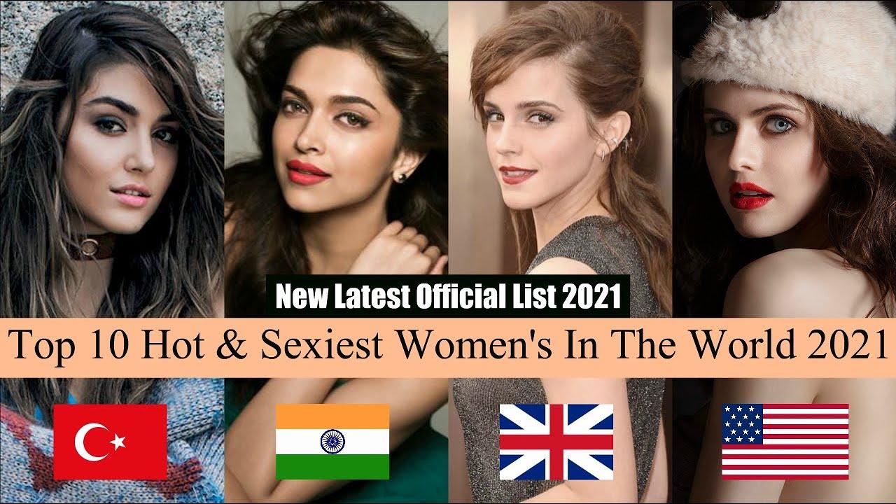 World top 10 hot womens