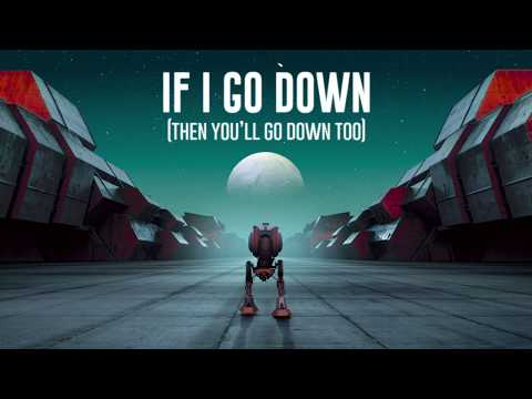 If I Go Down feat. Catey Shaw (Lyric Video) - Nigel Stanford