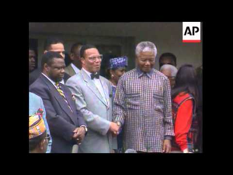Louis Farrakhan Meets Nelson Mandela, President Mandela's Message Of Truth And Reconciliation