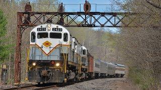 [HD] Chasing the Delaware Lackawanna OCS on the Pocono Main