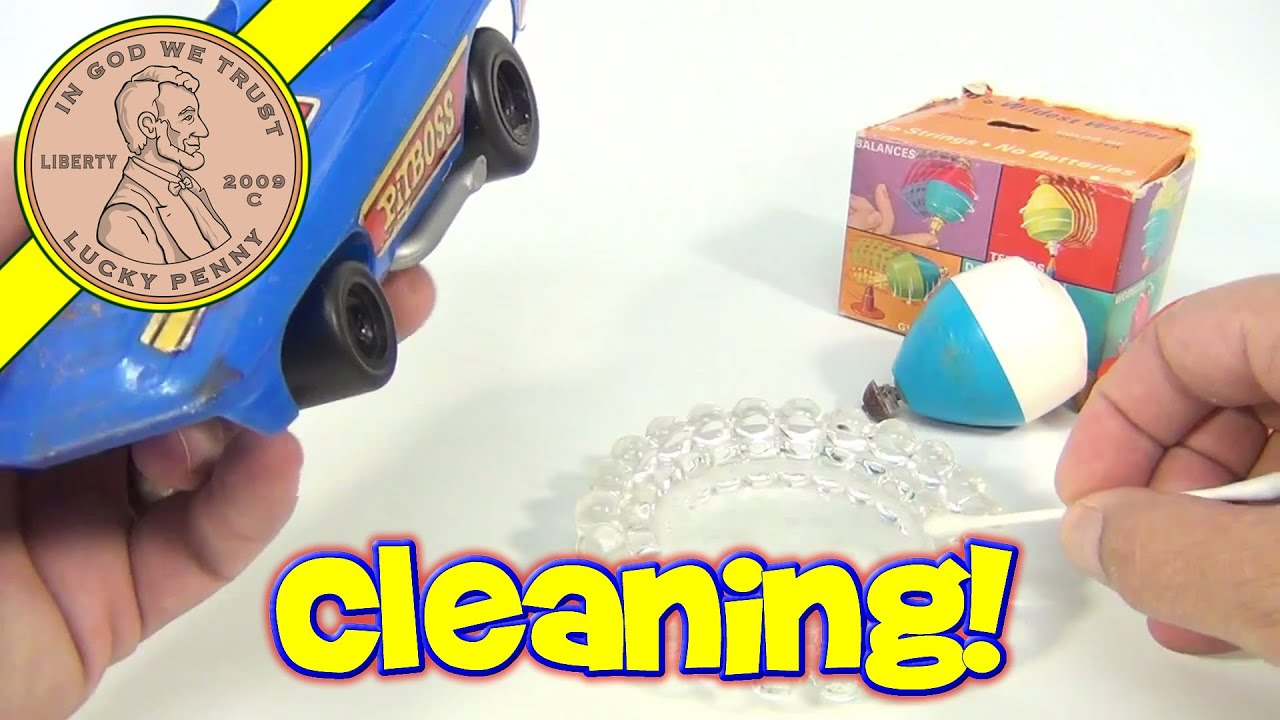 Cleaning A Vintage Plastic Toy The Pit Boss Spin Buggy Wizzer Car